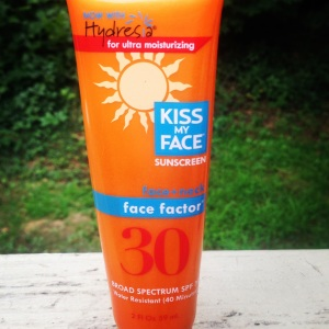 Facial sunscreen cream