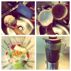 Smoothie: Making a Green Monster