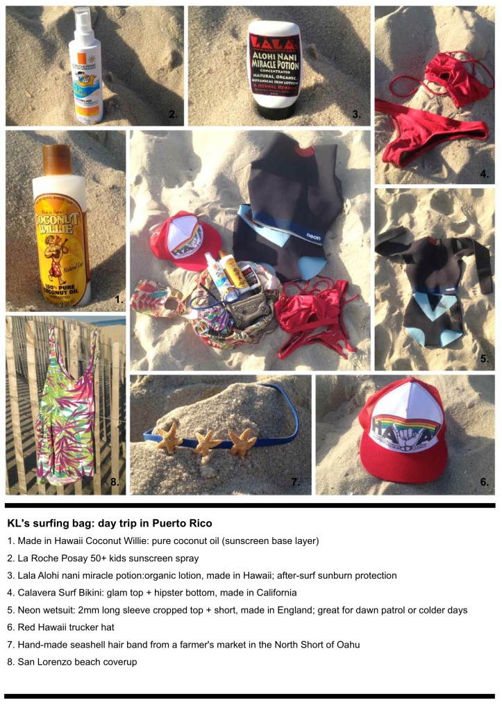 What's in your Surf Bag?