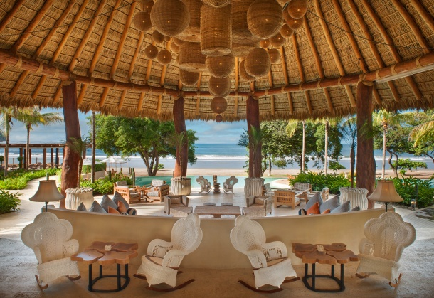 Mukul has every kind of food and dining experience choices: the open-air Beach Club is the heart of Mukul, a gathering place where guests can enjoy food by its infinite pool and tasting of rare Nicaraguan Flor de CaÒa rums in the split-level lounge, dine either in the palapa-shaded Beach Terrace Grill to enjoy the gorgeous view of the Playa Manzanillo, the barefoot-dining Parrilla, or classic and private dinning at Le Mesa with fresh locally produced organic cuisine. Much of the produce will be grown on the resortís organic farm; seafood will be selected from the daily catch of local fishermen; and steaks will be grass-fed Nicaraguan beef, known for its juiciness and intense flavor. In addition to the central dining area, Mukul provides a separated lounging area for children or a more private gathering, which includes a shallow swimming pool, playground and activities specially geared to different age groups.
