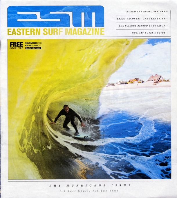 Mike Incitti from Eastern Surf Magzine, November 2013