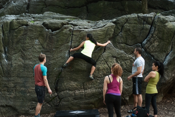 Outdoor Rise - Rock Climbing