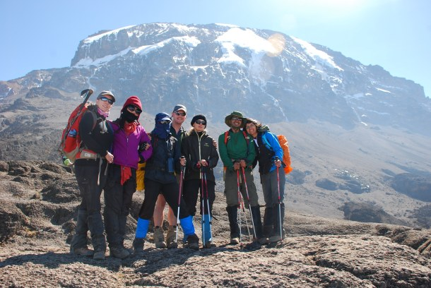 Kilimanjaro Hike with Discover Outdoor.  Photo by Lisa McGarry
