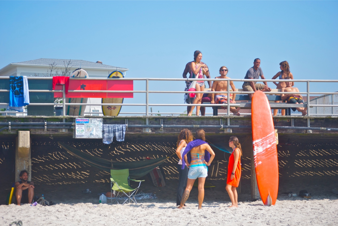 Summer time, Rockaway is a fun place to be! Photo: Andreea Waters